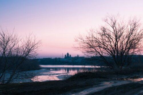 На закате дня