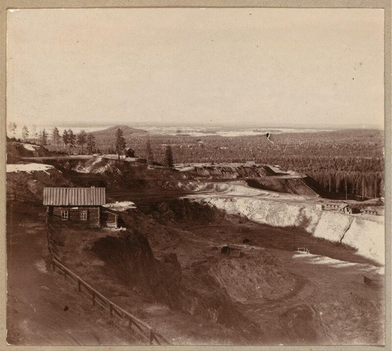 на горе Благодать. 1909
