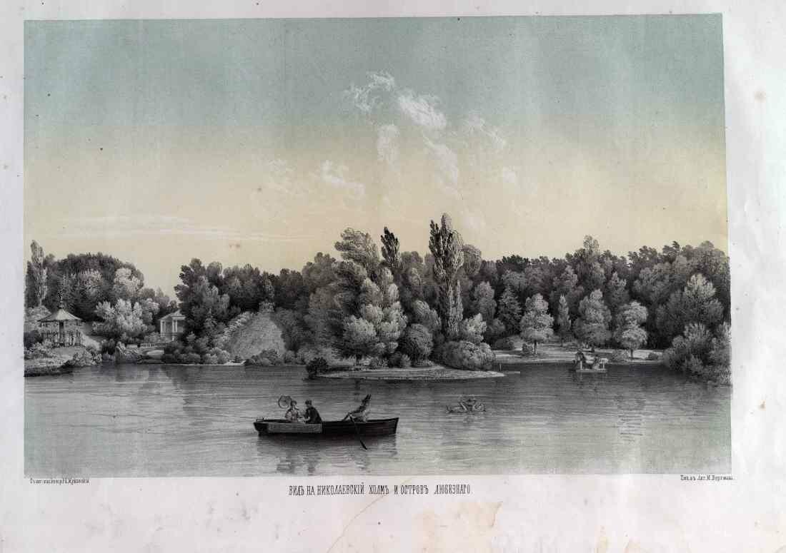 09. Вид на Николаевский холм и остров Любезного
