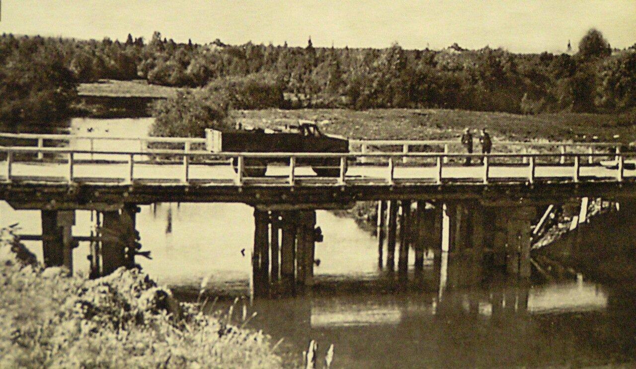 Мост через реку Ува