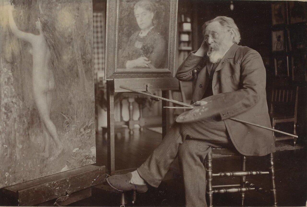 Жюль Бретон (1827- 1906).