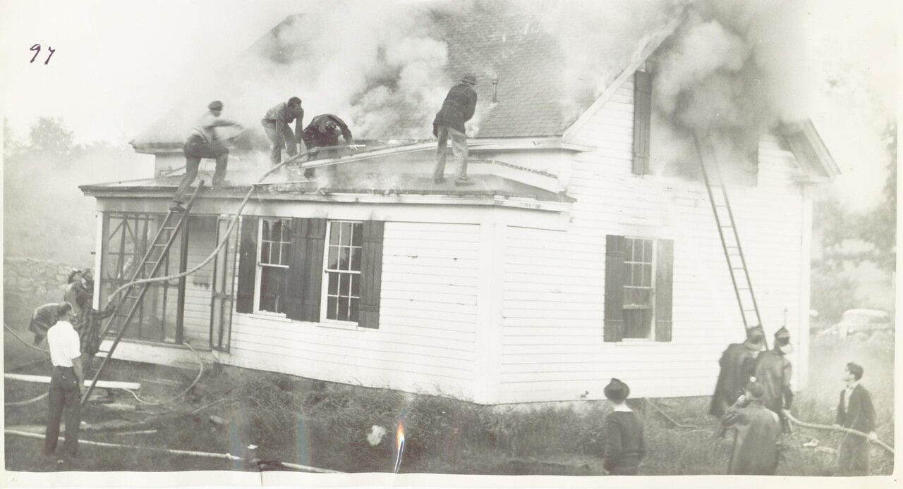 Пожар в Нью-Йорке в 1930-е