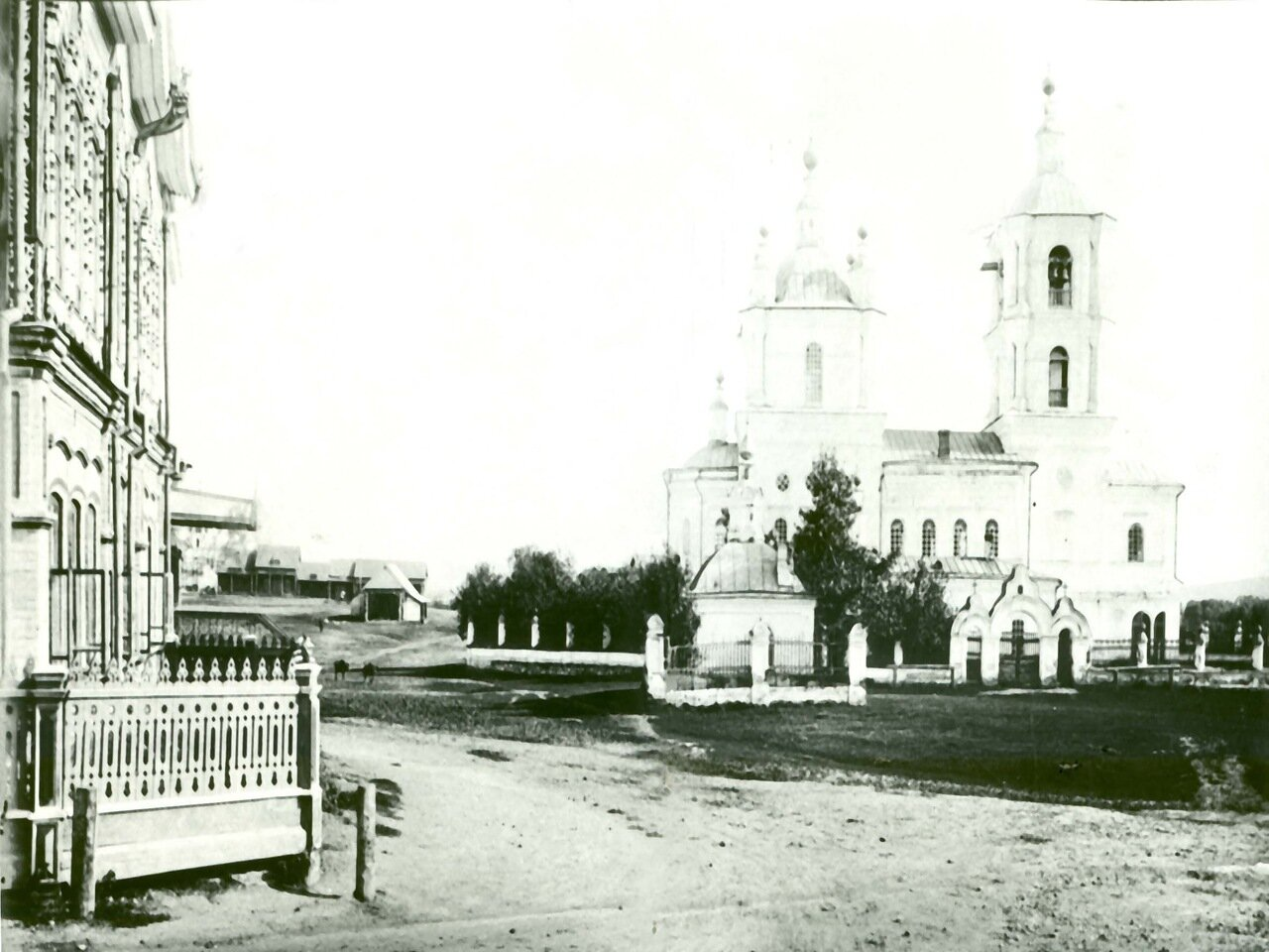 Собор и угол дома Тытыякова