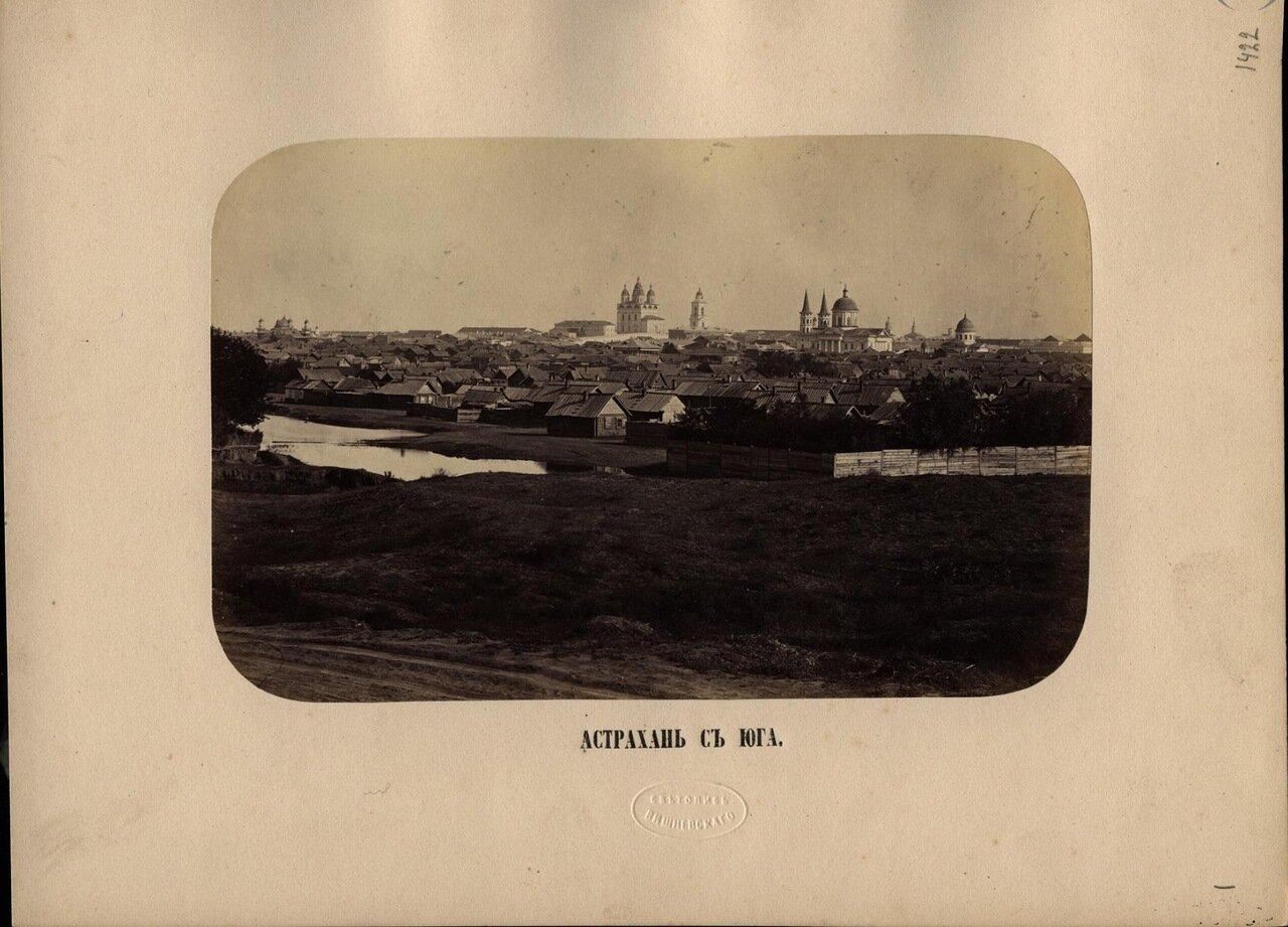 Астрахань с юга . Ателье «Светопись Вишневского».— Начало 1870-х