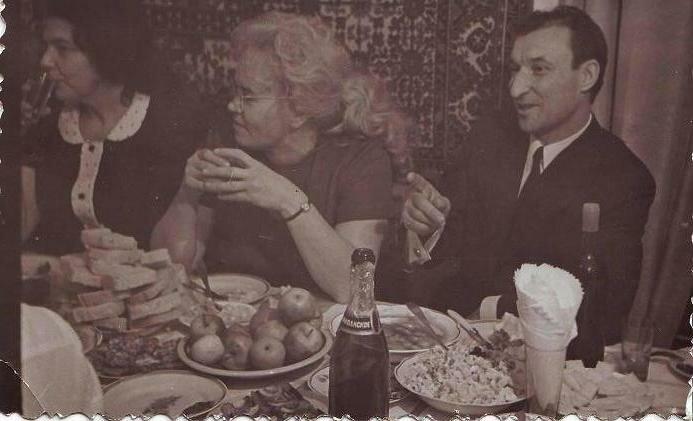 Новый, 1975, год.Чукотка, пос. Комсомольский