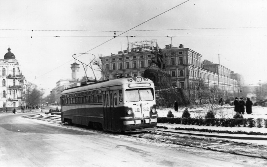 1959. Площадь Богдана Хмельницкого (сейчас Софийская площадь)