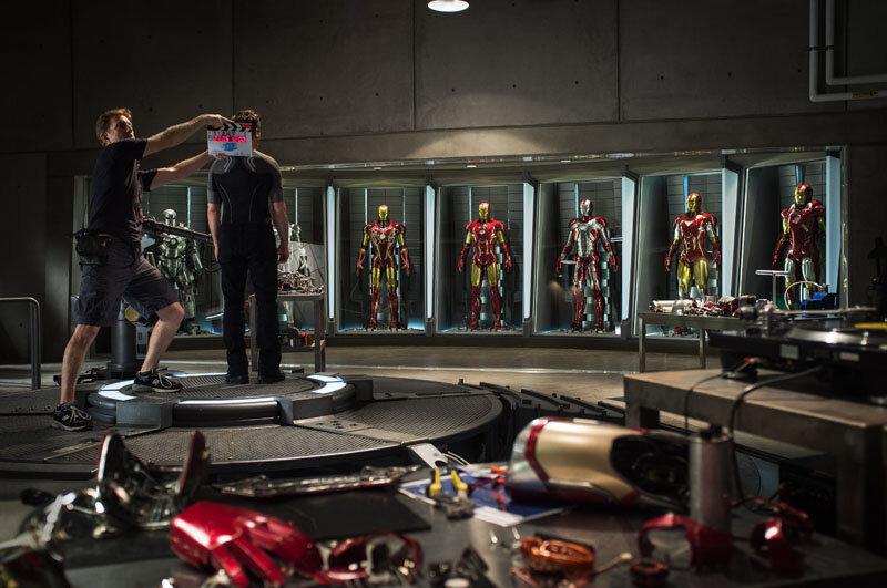 """Iron Man 3""Tony Stark/Iron Man (Robert Downey Jr.) Behind the Scenes Start Of Production Ph: Zade RosenthalTM & © 2012 Marvel & Subs. All rights reserved. www.marvel.com"