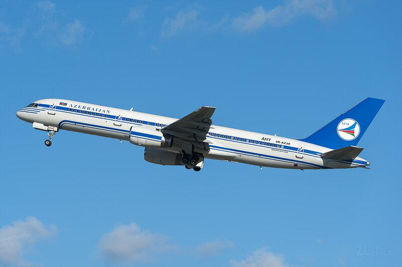 Boeing 757-256 (4K-AZ38) AZAL - Azerbaijan Airlines DSC6986