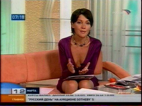 Фото голой ведущей утро россии