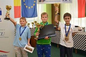 Молдавский игрок стал чемпионом Евросоюза по шахматам