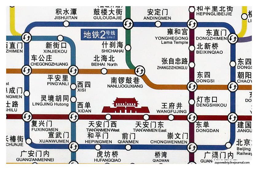 Полная схема пекинского