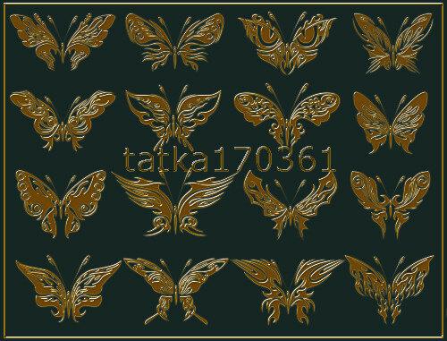 Фигуры для фотошопа в виде затейливых бабочек 0_ca0fa_cf3ae84f_L