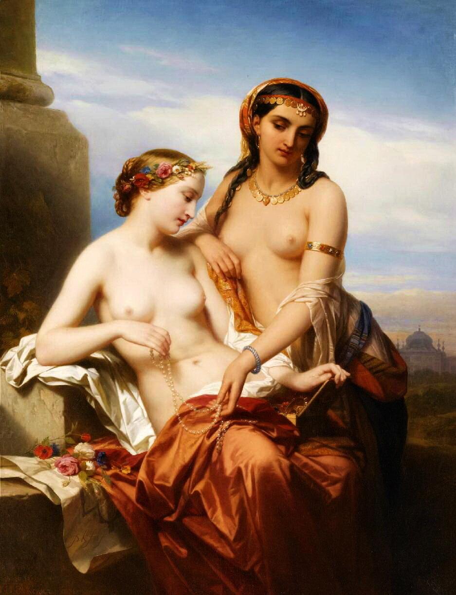 Эротика современных художников 11