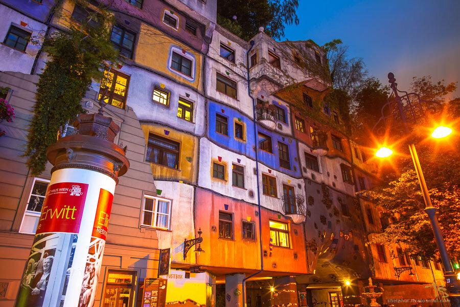Австрия, Вена, дом Хундертвассера gosu-wot.com