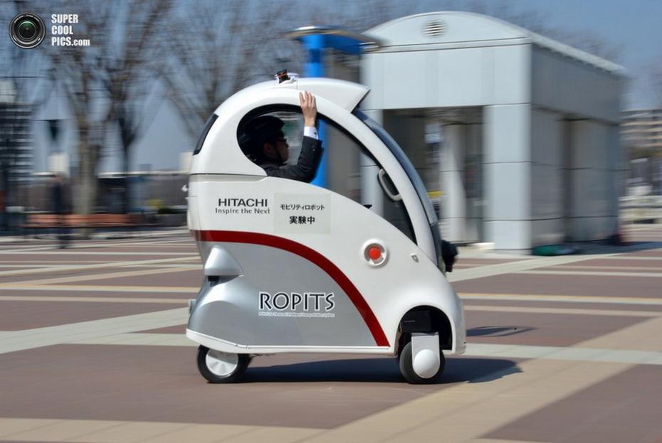 Hitachi ROPITS — автомобиль будущего