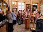 20 апреля, в день празднования Похвалы Пресвятой Богородице в Донском храме выступил фольклорный ансамбль Донская Слободка