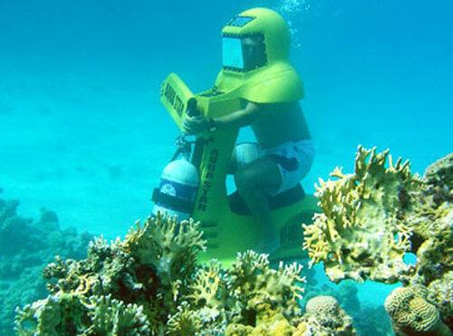 Подводный скутер
