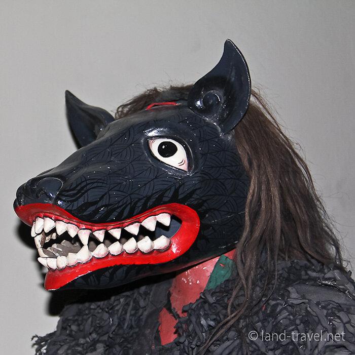 Маска волка своими руками фото