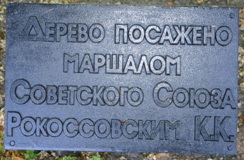 Аллея Дружбы в Минске