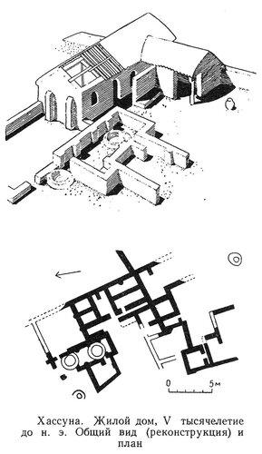 Жилой дом в Хассуне, чертежи