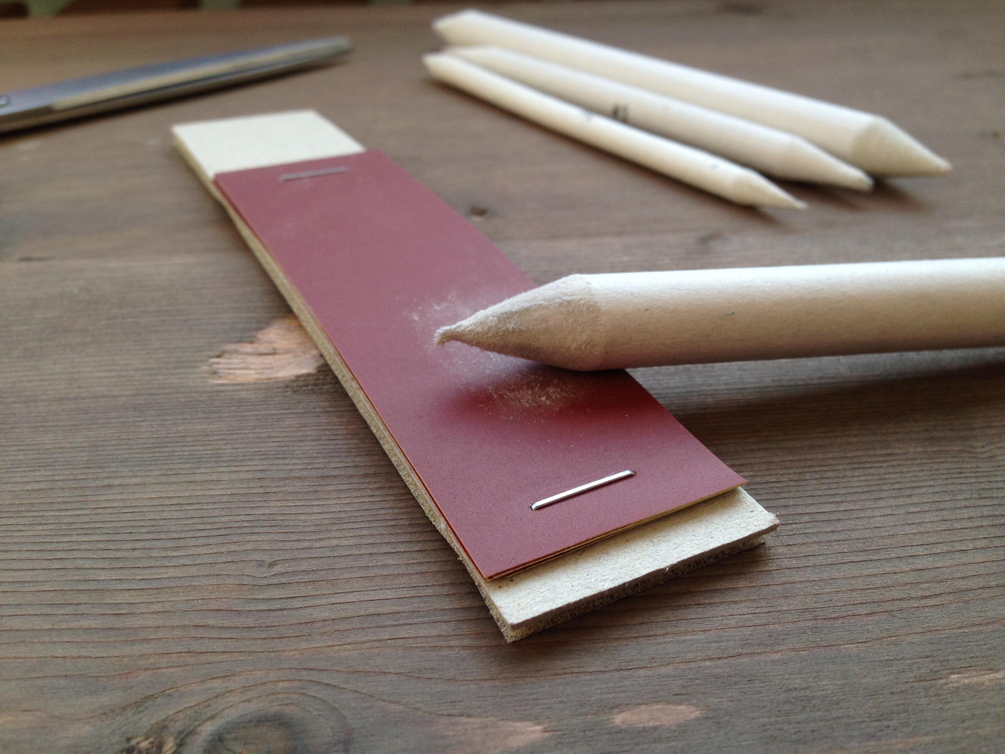 Как сделать растушевку на бумаге