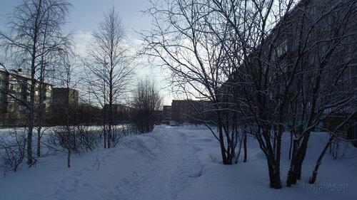 Фото города Инта №3680  Мира 32, 36 и 34 19.02.2013_12:24