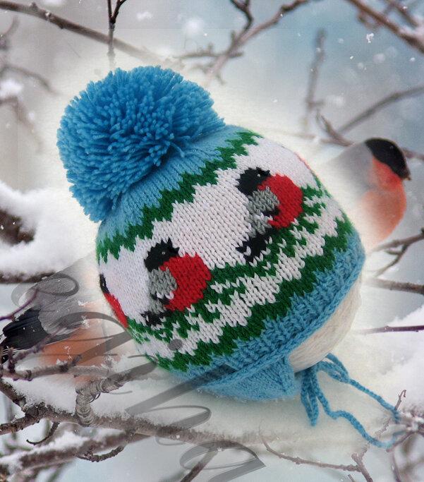 Вязание шапок и свитеров
