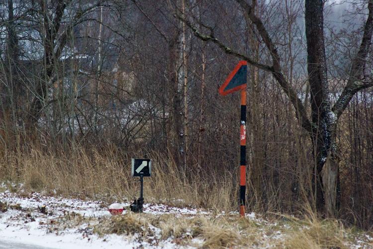 Старый железнодорожный вокзал. Порвоо. Зима. 2012.