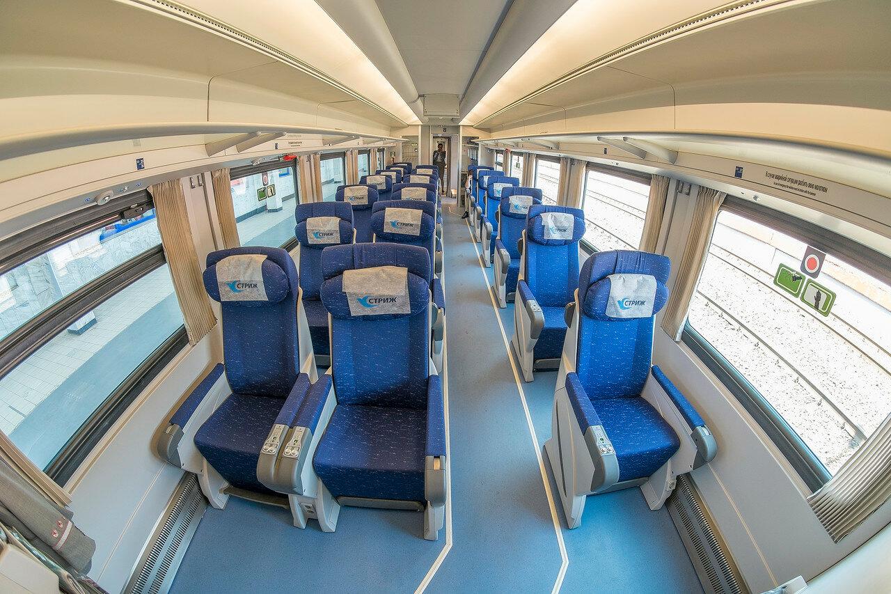 Схема мест поезда стриж нижний новгород-москва6