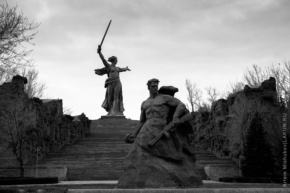 сталинград, мамаев-курган