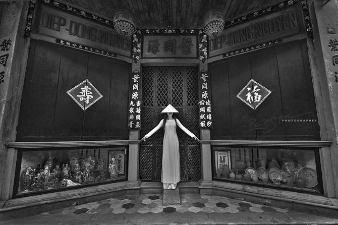 Девочка народа Тямы.