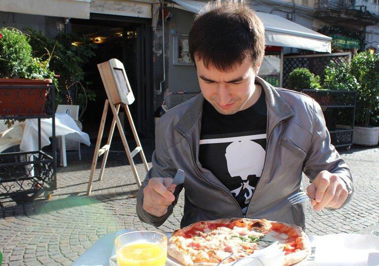 Ну и несколько слов о еде в Неаполе