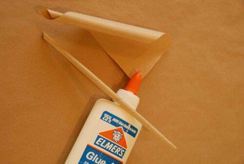 Перья из бумаги