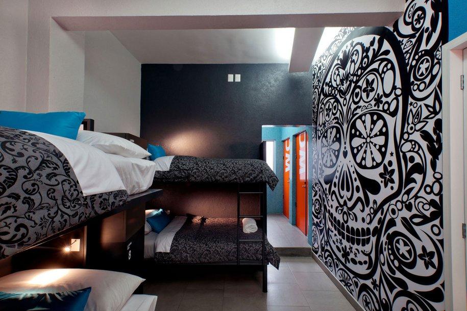Дешевый и приятный хостел в Мехико