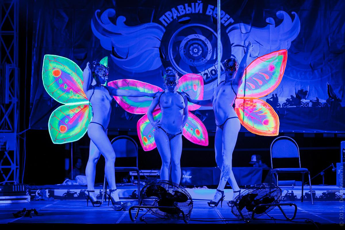 Мотофестиваль Правый Берег 2015 Velina-Dance Бабочки 14
