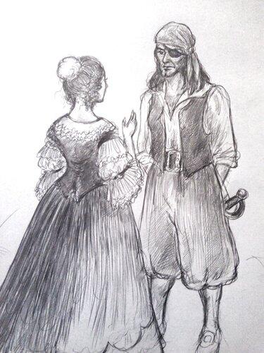 Арабелла и Волверстон (черновик)