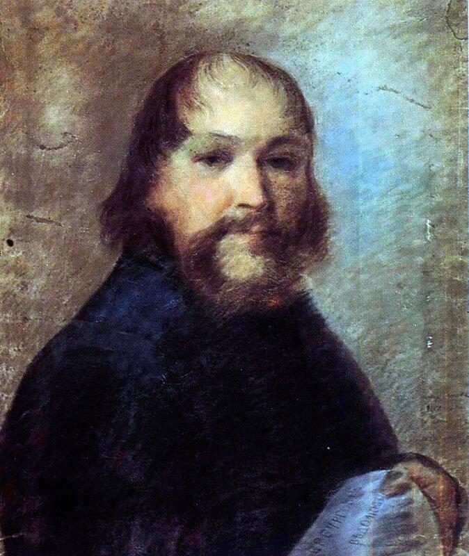 Алексей Венецианов, Портрет неизвестного... 1807