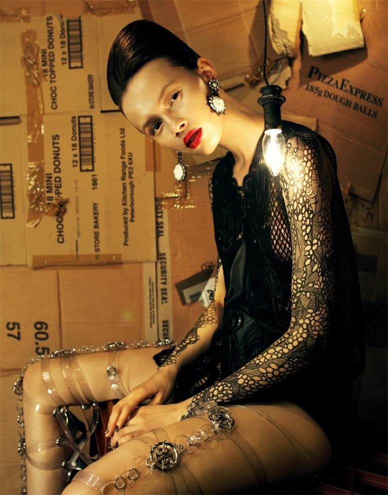 -Леди Бомж- Раня Морданова / Ranya Mordanova as Lady Baglady by Nikolay Biryukov