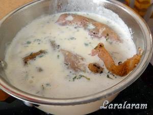 куриное филе в молоке