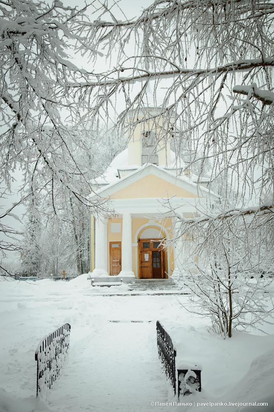 усадьба Брянчаниновых храм PavelPanko