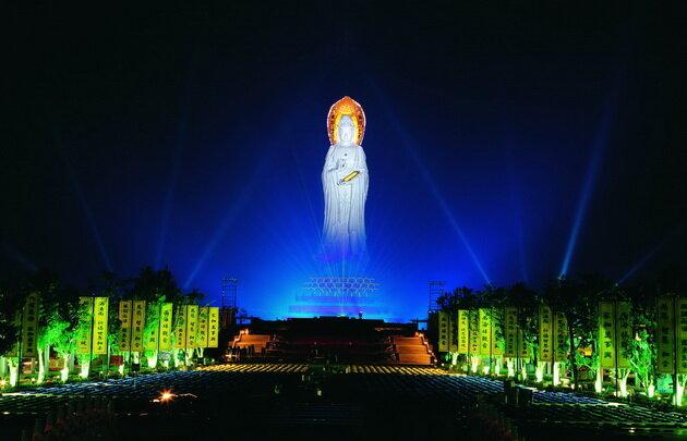 Центр Буддизма Наньшань. Китай