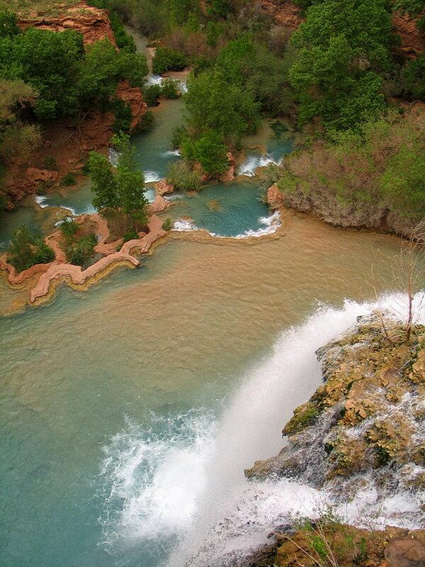 Водопад Хавасу. США