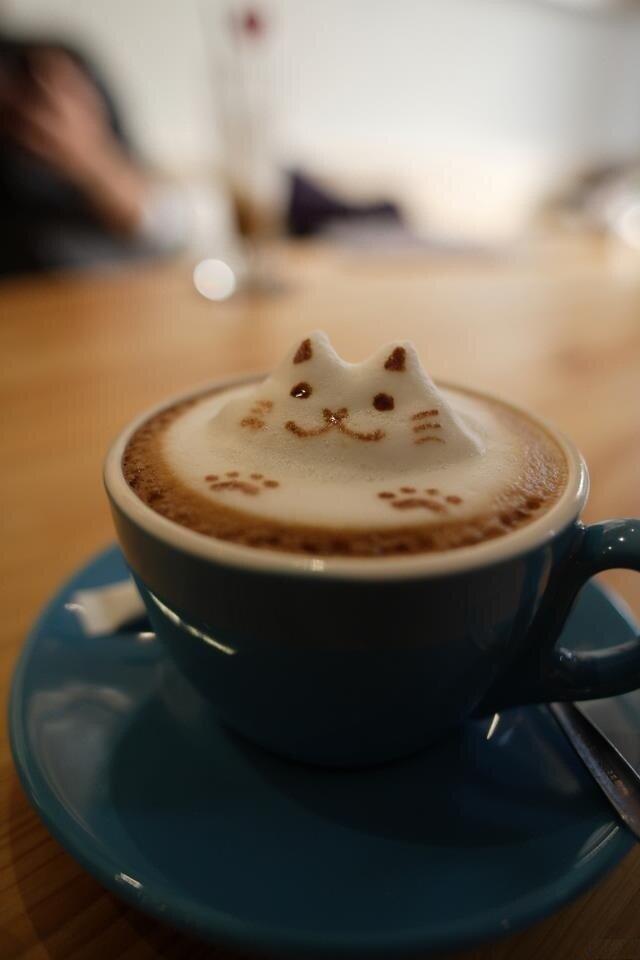 С утра такую чашечку кофе и настроение на целый день =)