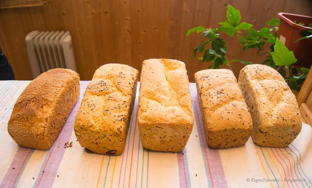 Семинар по бездрожжевому хлебу
