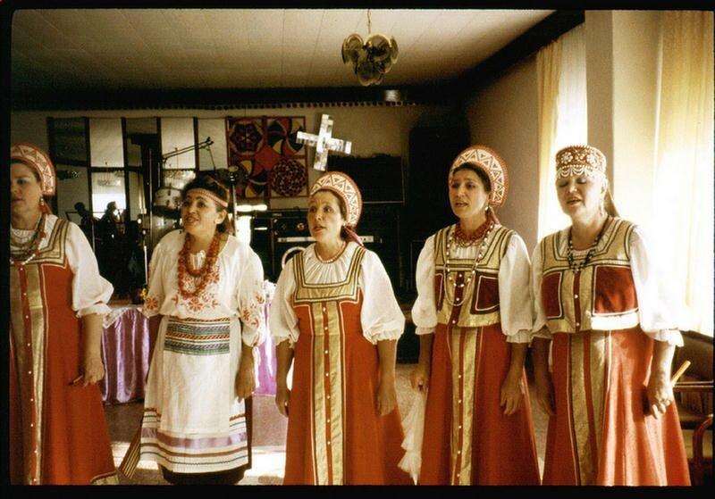 198. Русские песни на Русском чаепитии