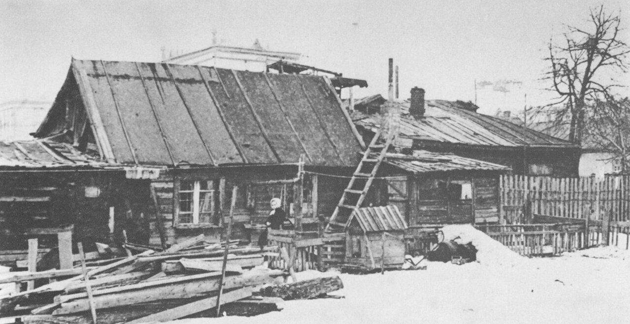 3-я Останкинская улица.(ныне улица Академика Королева) 1930