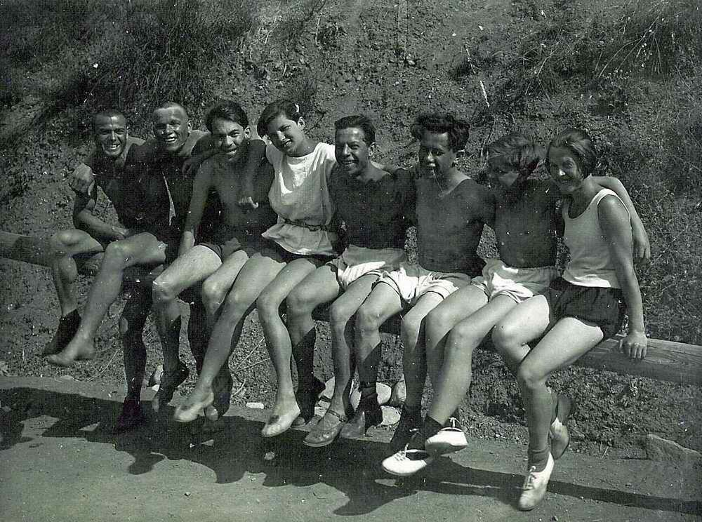 1937. Артековские вожатые