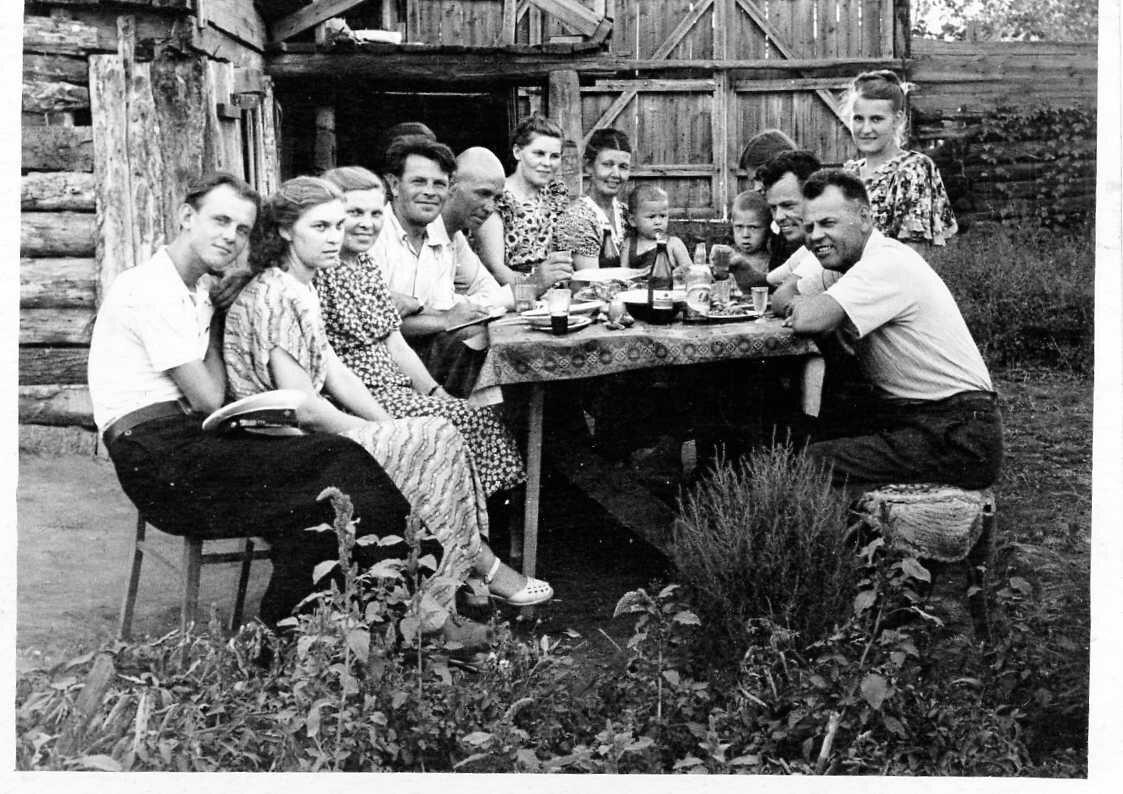 Бугуруслан,1955 год.