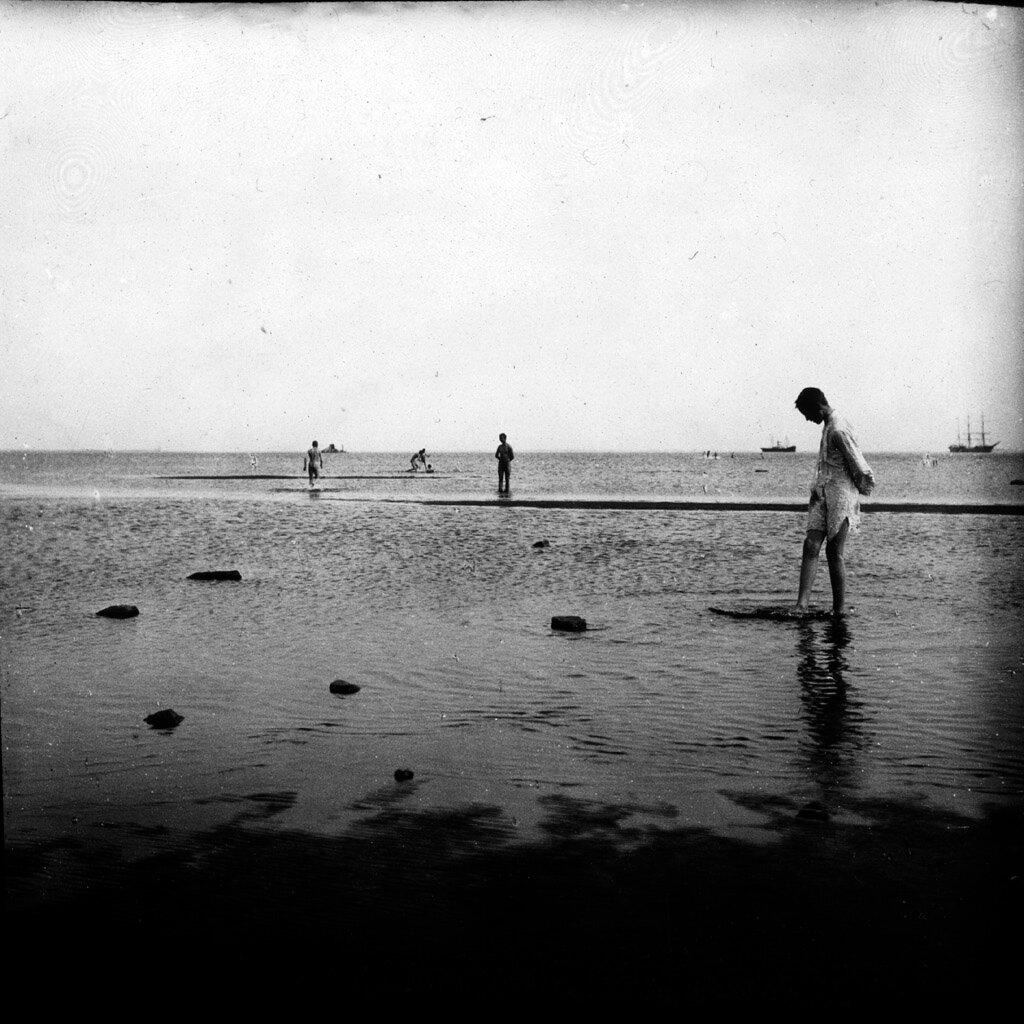 Плоский отмелый берег Ботнического залива