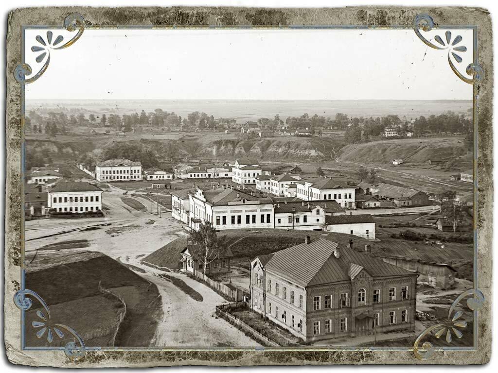 Вид бывш. Сенной площади с колокольни Воскресенского собора, 1933-35 гг.